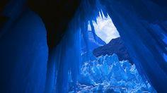 un glaciar