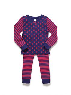 Long sleeve pj set – navy by Mix Apparel