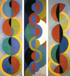 Robert Delaunay  Rhythym Without End 1933