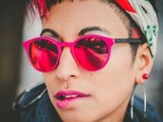 SPOTSNAPR sunglasses are designed by renowned eyewear designers using only the highest quality materials, such as acetate and stainless steel. Havanna, Cat Eye Sunglasses, Eyewear, Ink, Portrait, Rose, Photography, Sunglasses, Graz
