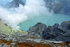 Kawa Ijen Crater - Indonesia