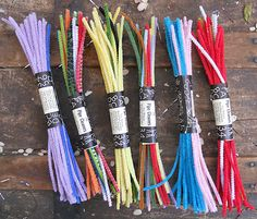 Vintage Multi Color Pipe Cleaners