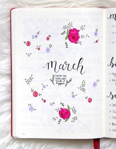 The Power of Monthly Goals to Fulfill your Dreams March Bullet Journal, Bullet Journal Font, Bullet Journal Ideas Pages, Bullet Journal Inspiration, Journal Pages, Journals, Bujo Doodles, Bullet Journel, Creative Journal