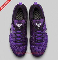 """Nike Kobe 9 Elite Low """"Hyper Grape"""" Purple 631847-152"""