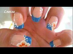 Cute Hawaii nails