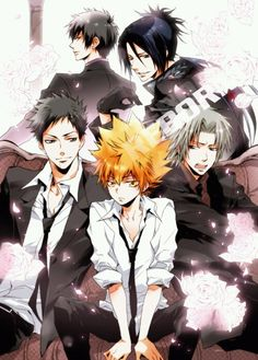 Katekyo Hitman Reborn one of the best anime ever!!!!