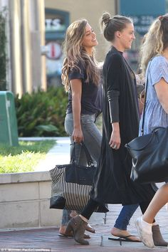 Calling it a day: Amber was seen walking back to her hotel in Savannah on Tuesday