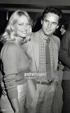 Randi Oakes and Gregory Harrison