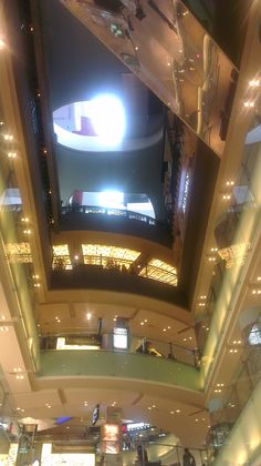 Grand Indonesia Shopping Town, Jakarta -- ceiling view, walkways arcade