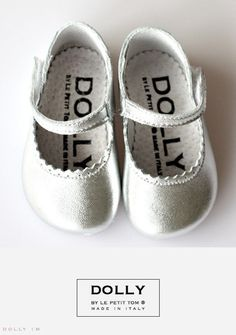 Dolly Silver Mary Janes