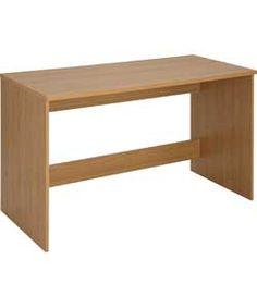 Walton Office Desk - Oak Effect.