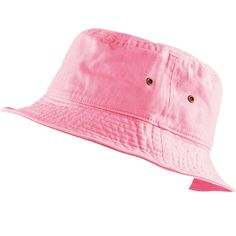 42e59a5bd9fc1 THE HAT DEPOT 300N Unisex 100% Cotton Packable Summer Travel Bucket Hat  (S M