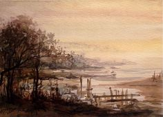 Swamp by Mikhail Savchenko Wall Art, Painting, Painting Art, Paintings, Painted Canvas, Wall Decor