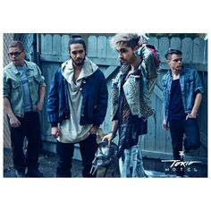 Tokio Hotel poster 2014 - Kings Of Suburbia