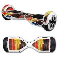 MightySkins Protective Vinyl Skin Decal for Hover Board Self Balancing Scooter mini 2 wheel x1 razor wrap cover Painted Wood ** Be sure to check out this awesome product.