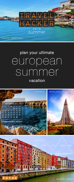 Our 2016 Summer Travel Hacker Guide has the summer's top travel destinations. With our Top Trending European Destinations, we give you the where, when and how much of planning your summer vacation. So, all you need to worry about is grabbing your passport. #TravelProblemSolved