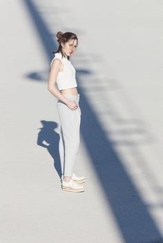 White Simplicity. Zinda - Lookbook SS16 #Loafers #Summer #Fashion
