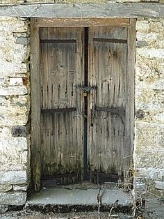 Door, Old, Village, Wood, Entrance