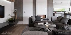 Projekt domu HomeKONCEPT-26 | HomeKONCEPT Concept Home, Sofa, Couch, Bungalow, House Plans, Villa, Modern, Furniture, Farm 2