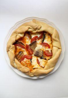A l'italienne - Une recette pour une tarte extrêmement simple à préparer et délicieuse. Régalez-vous !