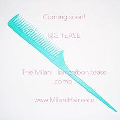 The best tease comb you will ever have!  #milanihair #teasecomb http://leylamilanihair.com/products/big_tease