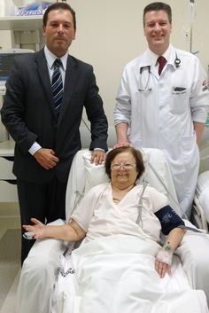 Seja simpática ao visitar alguém no hospital