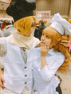 Charlotte Pudding Purin x Sanji Vinsmoke One Piece Cosplay
