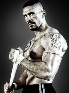 Scott Adkins as Yuri Boyka. Especially when he's angry.