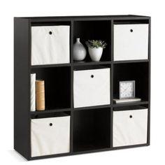9-Cube Storage Unit - Sears   Sears Canada Cube Storage Unit, Cube Unit, Storage Baskets, Ladder Bookcase, Bookshelves, Units Online, Shelving, Stuff To Buy, Home Decor