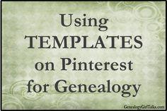 Genealogy Girl Talks | Family History | Genealogy | Audio Blog | Podcast: Using Pinterest for Genealogy