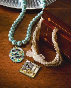 Mod Podge® Antique Urban Pendant Necklaces