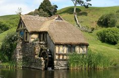 The Mill - Hobbiton film set, New Zealand