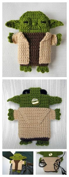30 Stylish DIY Crochet Phone Cases | Kreativ, Hüllen und Muster