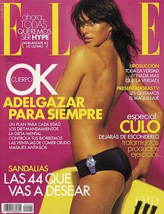 Covers of Elle Spain with Diana Kovalchuk, 958 2003   Magazines   The FMD #lovefmd