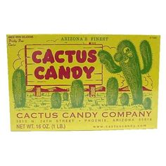 1 LB Box of Prickly Pear Cactus Candy * BEST VALUE BUY on Amazon