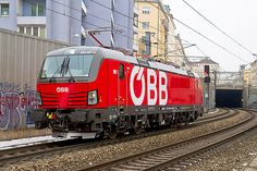 Trains and locomotive database and news portal about modern electric locomotives, made in Europe. Rail Transport, Electric Train, Electric Locomotive, Trains, Train Tracks, Austria, Diesel, Transportation, Around The Worlds