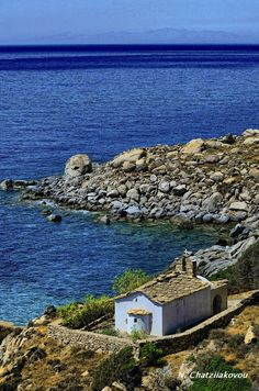 Ikaria Greece Ancient Ruins, Ancient Greece, Countries To Visit, Places To Visit, Peaceful Places, Beautiful Places, Ikaria Greece, Places Around The World, Around The Worlds