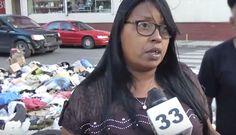 Munícipes en Villa Consuelo se quejan de la basura y el mal olor frente a escuelas