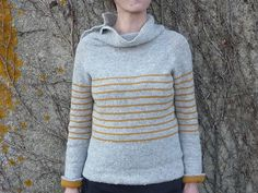 i love this. cochenile's gathering stripes (a fantastic design by veera valimaki)
