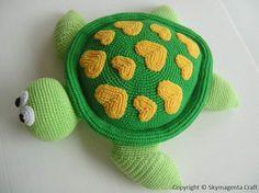 Crochet Pattern  SEA TURTLE  Toys  pdf  00449 von skymagenta