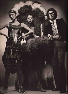 1970 - Yves Saint Laurent in Vogue from devorahmacdonald.blogspot.fr