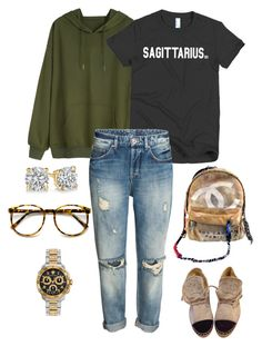 Mall Outfit !!! by birthdaygirlworld on Polyvore featuring Chanel and Versace