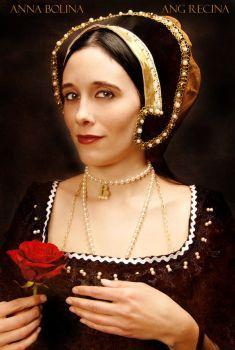 Anne Boleyn por Annie-Bertram