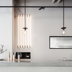 Swedish designer Richard Lindvall has created monochromatic interiors for a refurbished Stockholm factory that now houses a restaurant and conference space.  The 2000-square-metre industrial space in the city's Södermalm neighbourhood originally housed a sausage factory. Read the full story on http://ift.tt/1mkWkZu #architecture #interiordesign #Stockholm #Sweden by dezeen