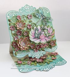Designs by Marisa: Heartfelt Creations - Winking Frog Collection Easel Card