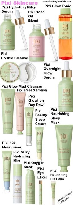 Pixi #skincare items