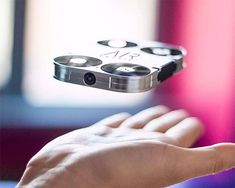 Small enough to launch from the palm of your hand, the AirSelfie Drone stores in a smartphone case for quick, convenient deployment. It's got an onboard 5MP camera for stills & captures HD video with 4GB of storage. For controls, it creates a wi-fi network with your compatible phone: iPhone 6, 6s, 7, 7 Plus, Huawei P9, Google Pixel and Samsung Galaxy S7 Edge & uses a simple, intuitive app with multiple flight modes.