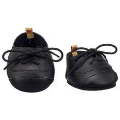 Black Wing Tip Shoes - Build-A-Bear Workshop US