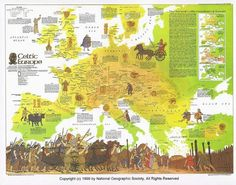 CELTIC-SPEAKING EUROPE at her height after the battle of Allia in 387 BCE was also buffered by a Celtic cultural sphere of influence into surrounding Slavic, Germanic, Italic, Lusitanian, Iberian and Vasconic territories. It was the memory of this primaeval cultural and linguistic unity that fed into later tales of Arthurian 'empires' in Europe. The core of the European peninsular, i.e. the lands west of the Oder-Danube-Sava line, is Celticated at this time.