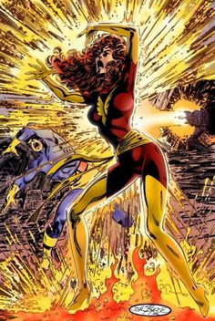 Death of Jean Grey by Byrne.. The original of this re-do by Byrne is the comic that got me collecting waaay back in the early 80's X-Men #137 Unless I miss my guess...